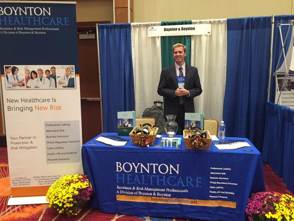 Ryan Gillaspie of Boynton & Boynton at the HCANJ Conference