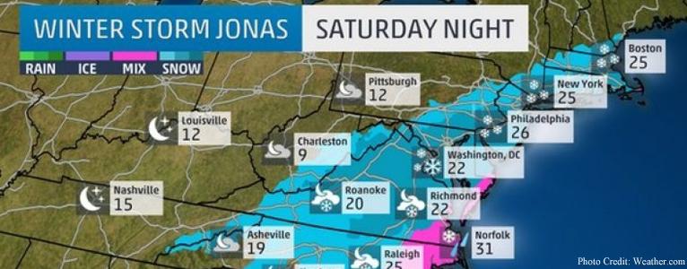 Winter Storm Jonas Info - Boynton & Boynton Insurance in New Jersey